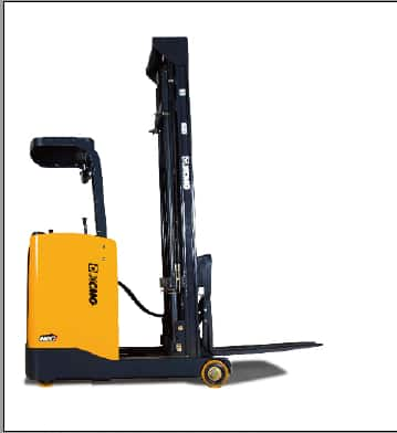 XCMG Official 1.5-2.5 Stand On Electric Rreach Truck for sale