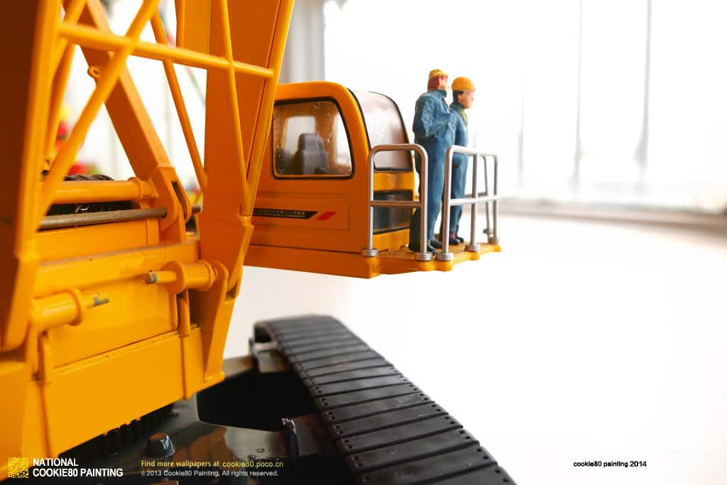 XCMG Crawler Crane QUY300 Model (1:50)