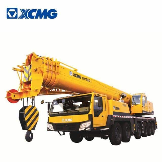 XCMG Official Manufacturer 100 ton truck crane QY100K-I mobile crane for sale
