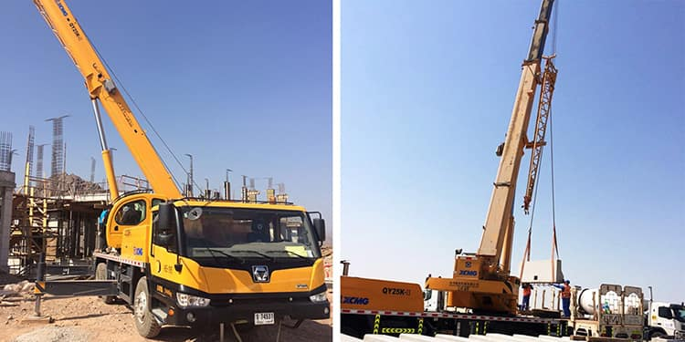 XCMG Official QY25K-II Truck Crane for sale