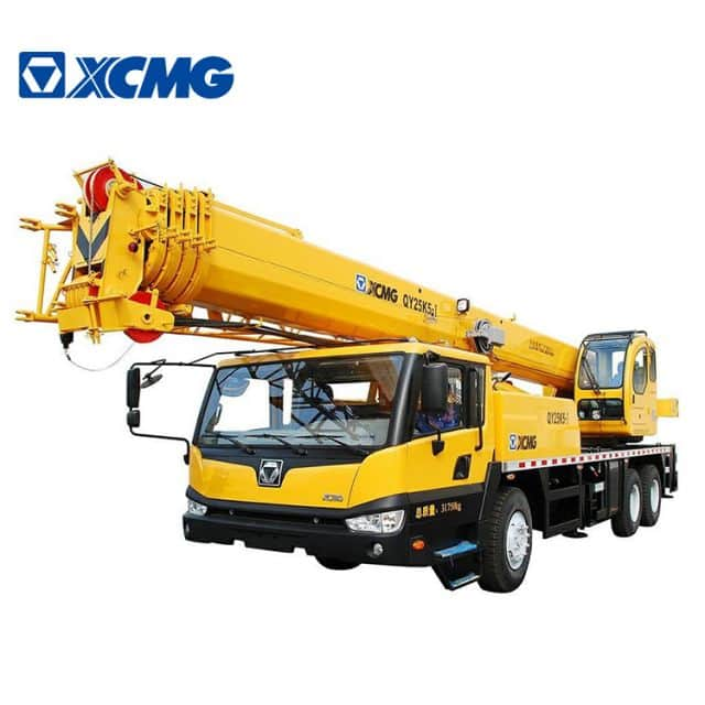 XCMG QY25K5-I 25 ton telescopic hydraulic truck crane for sale