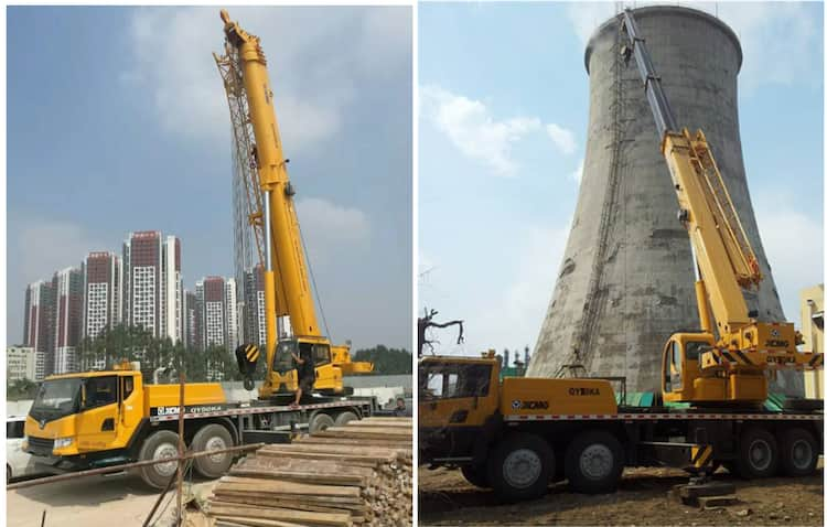 XCMG Manufacturer Crane Truck QY50KA 50 Ton Mobile Truck Cranes with Good Price