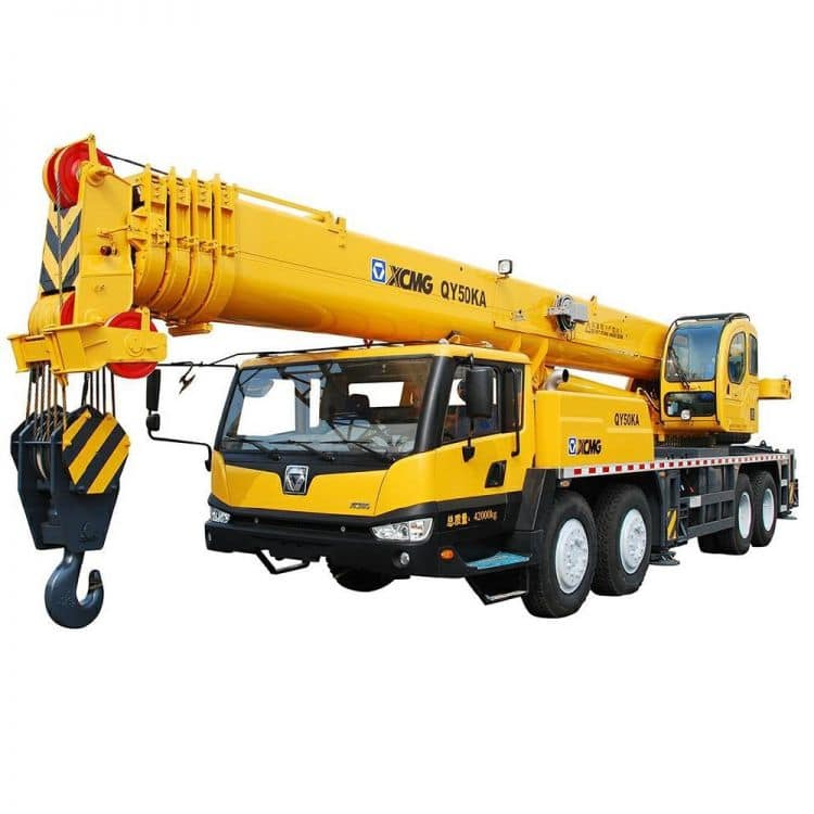 XCMG Official QY50KA Truck Crane for sale