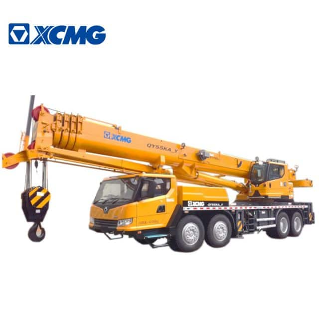 XCMG Official 55 Ton Hydraulic Crane Truck QY55KA_Y China Truck Cranes Price