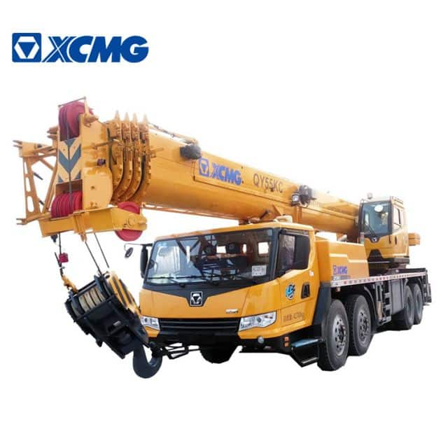 XCMG Official Hot Sale 55 Ton Rc Crane Truck QY55KC China Truck Cranes for Sale