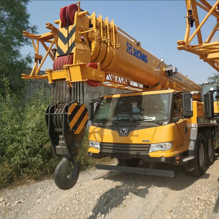XCMG Official QY75K Heavy Lift 70 Ton Mobile Truck Crane Price