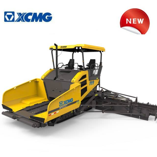 XCMG new asphalt pavers RP1005T China road paver machine exhibited at Bauma CHINA 2020 for sale