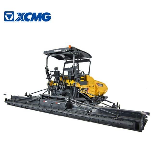 XCMG 12.5m asphalt paver machine RP1253 full hydraulic drive road paver machinery for sale