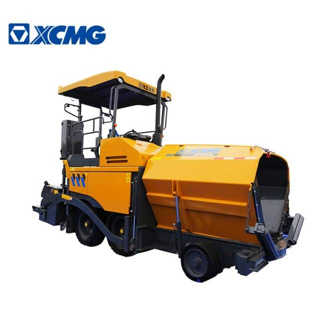 XCMG 4.5m 73.5KW road paver RP453L mini full hydraulic four wheel drive asphalt paver machine price