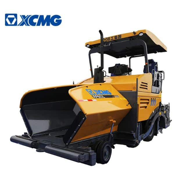 XCMG Official 6m asphalt paver RP603L full hydraulic four wheel road paving making machine for sale