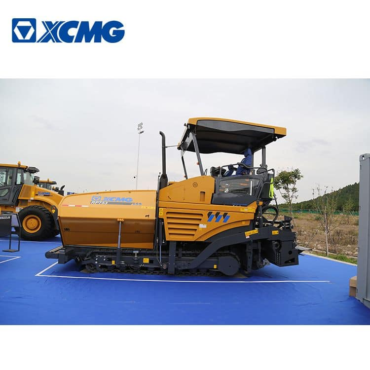 XCMG RP753 7.5m width road crawler paver laying machine for sale