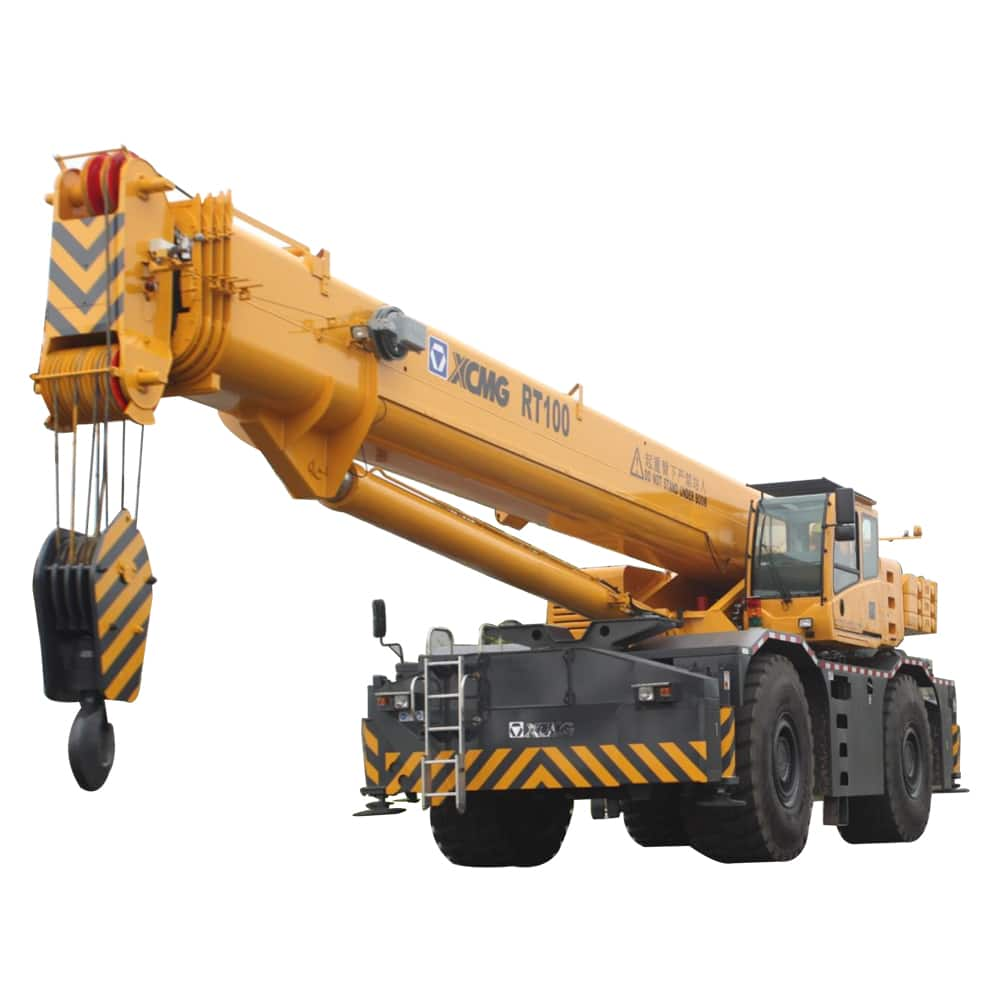 XCMG Official RT100 Rough Terrain Crane for sale