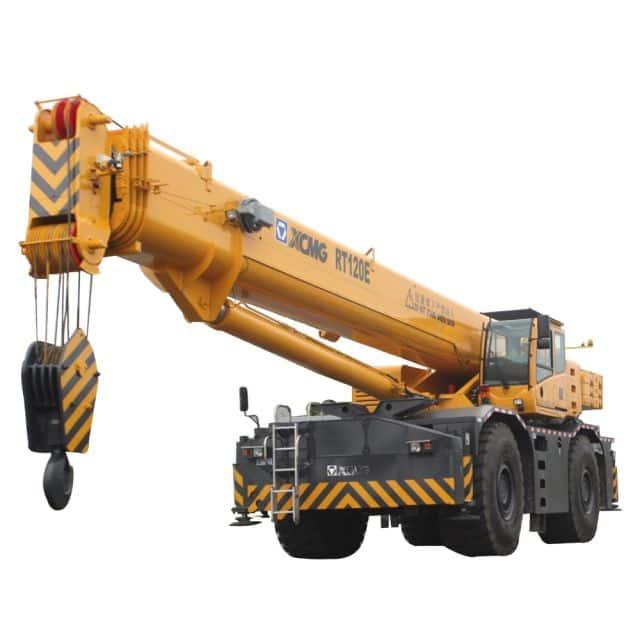 XCMG Official RT120E Rough Terrain Crane for sale