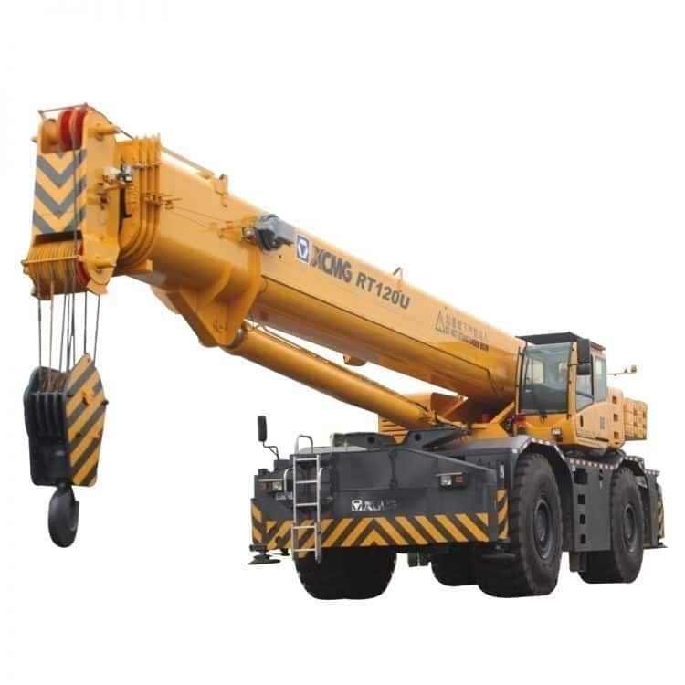 XCMG Official RT120U Rough Terrain Crane for sale