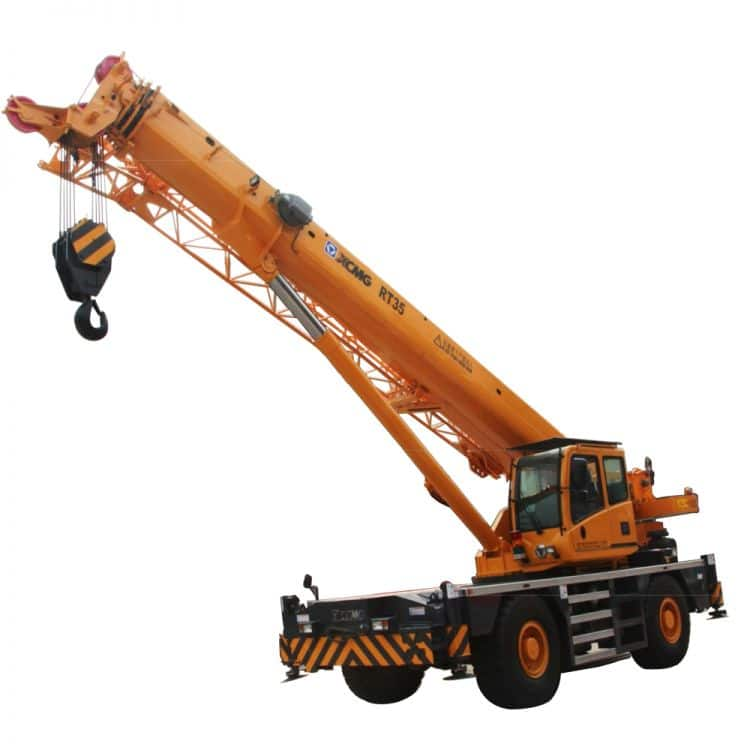 XCMG Official RT35 Rough Terrain Crane for sale