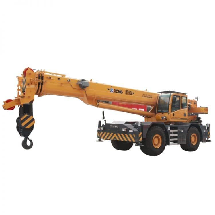 XCMG Official RT50A Rough Terrain Crane for sale