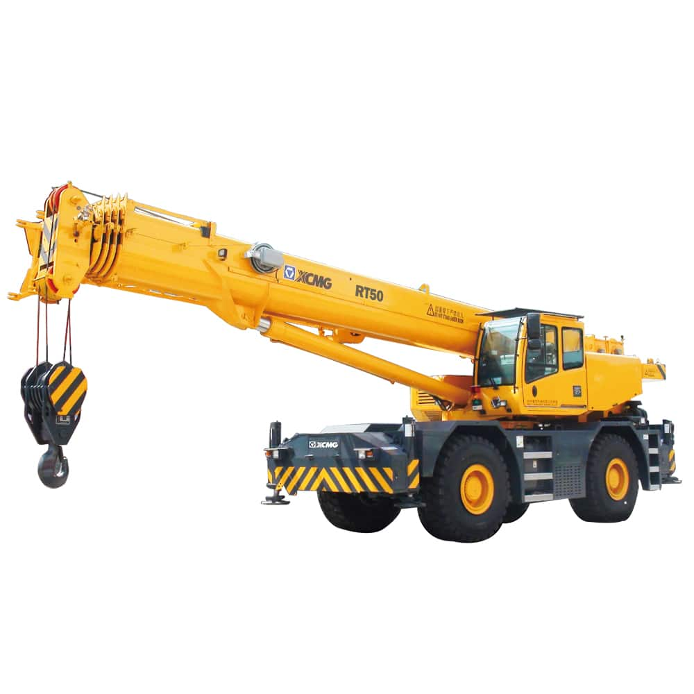 XCMG Official RT50 Rough Terrain Crane for sale