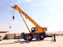 XCMG Official 60 Ton New Rough Terrain Crane RT60A China Tractor Hydraulic Crane for Sale