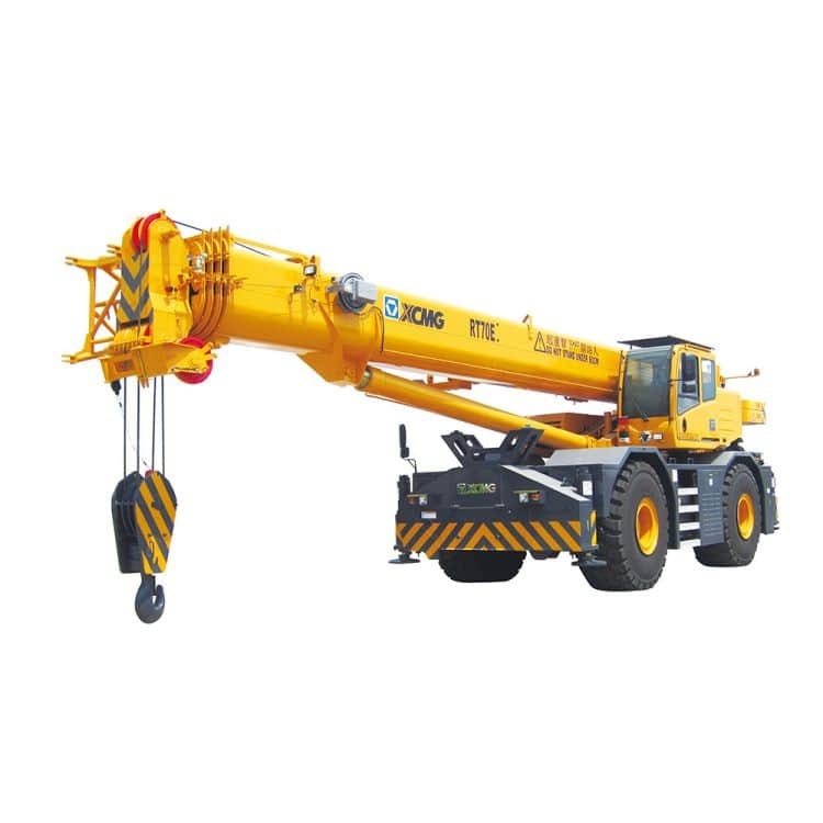 XCMG Official RT70E Rough Terrain Crane for sale