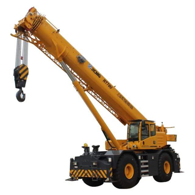 XCMG Official RT70U Rough Terrain Crane for sale