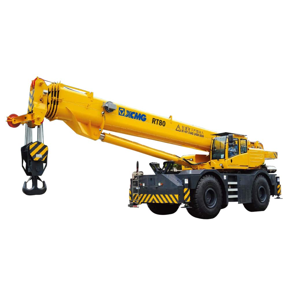 XCMG Official RT80 Rough Terrain Crane for sale