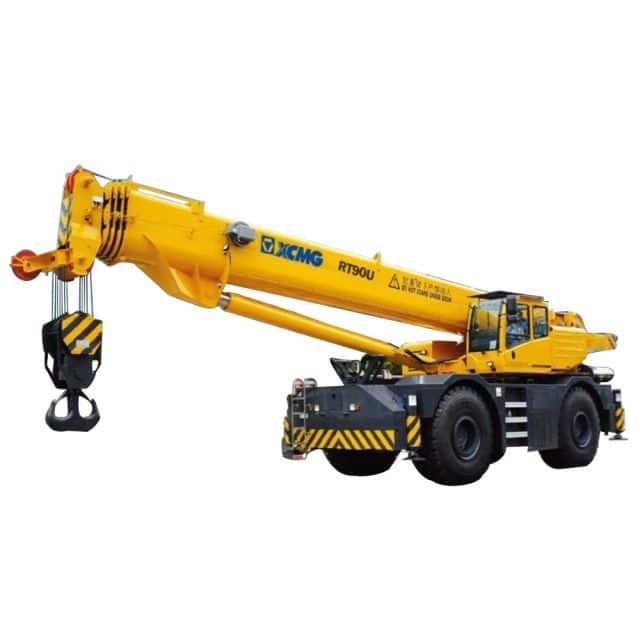 XCMG Official RT90U Rough Terrain Crane for sale
