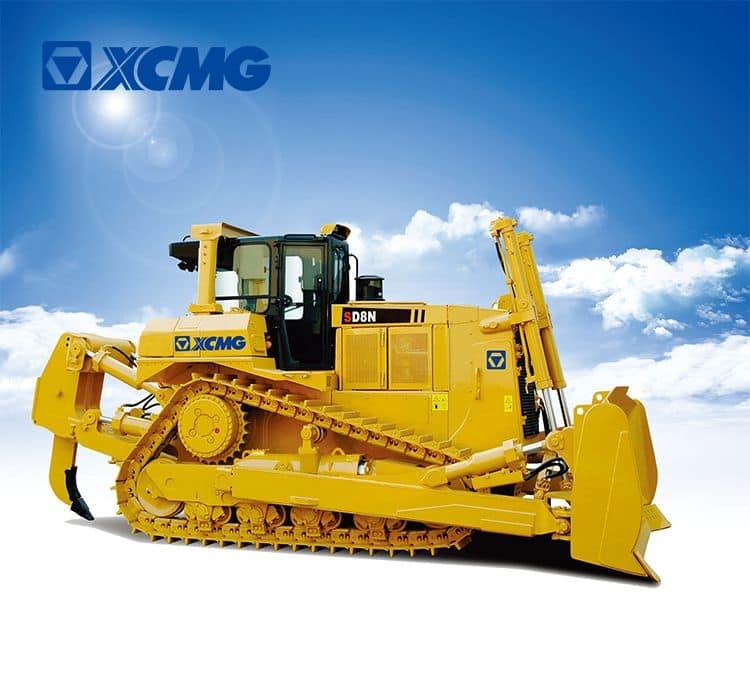 XCMG 257KW China hydraulic crawler track bulldozer SD8N for large earthwork construction price