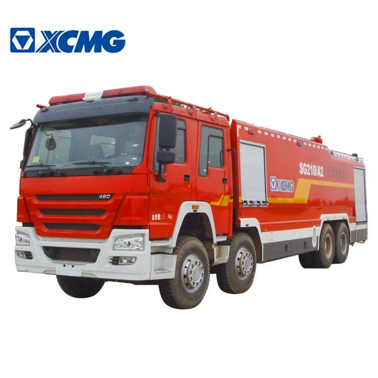 XCMG Official Water Tank Fire Truck SG210A2 for sale