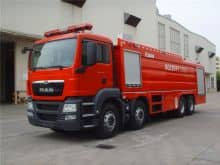 XCMG 8x4 23ton water tank fire truck SG230F1 China new mobile heavy duty fire fighting truck price