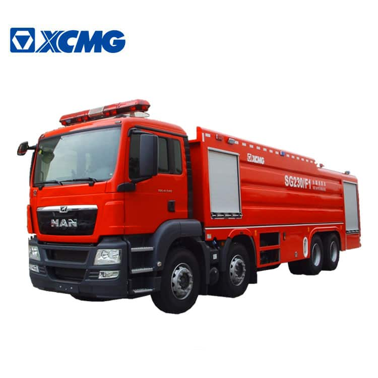 XCMG Official Fire Truck 23 ton new large-tonnage water tank fire truck SG230F1 brand firetruck price for sale