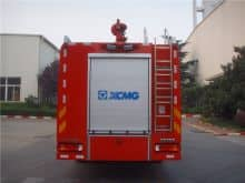 XCMG Official Fire Truck 25 ton new large capacity water tank fire truck SG250F2 fire fighting truck price for sale