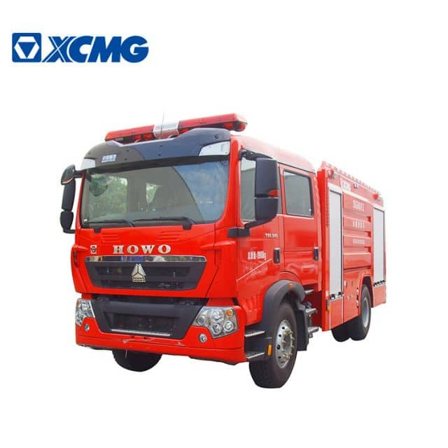 XCMG Official Fire Truck 4 ton water tank fire truck SG40F2 new mini fire truck for sale