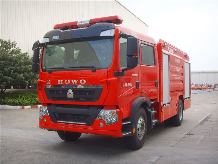 XCMG Official Fire Truck 8 ton water tank fire truck SG80F2 new fire fighter truck price for sale