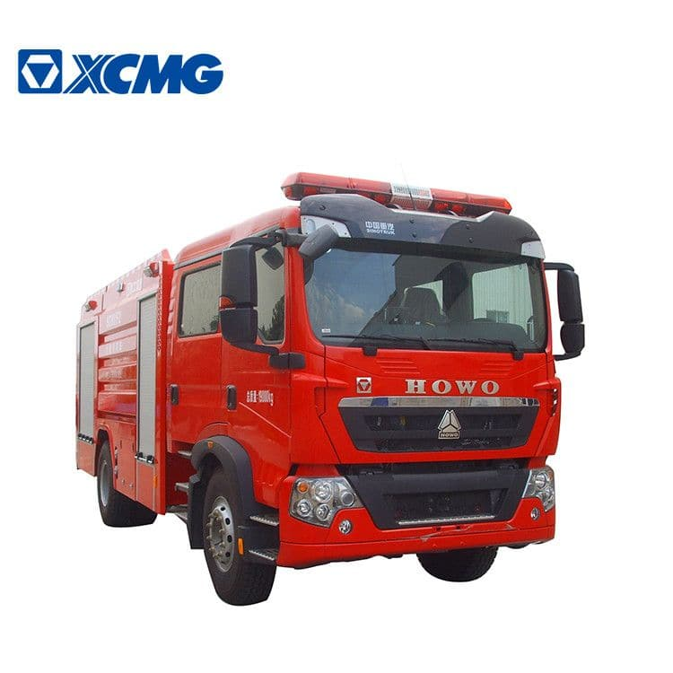 XCMG 8 ton 4x2 fire truck SG80F2 China water tank rescue fire fighting truck with HOWO chassis price