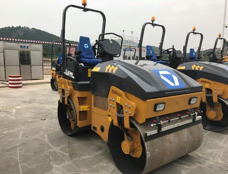 China XCMG Soil Compactor 16 Ton Xs163j Single Drum