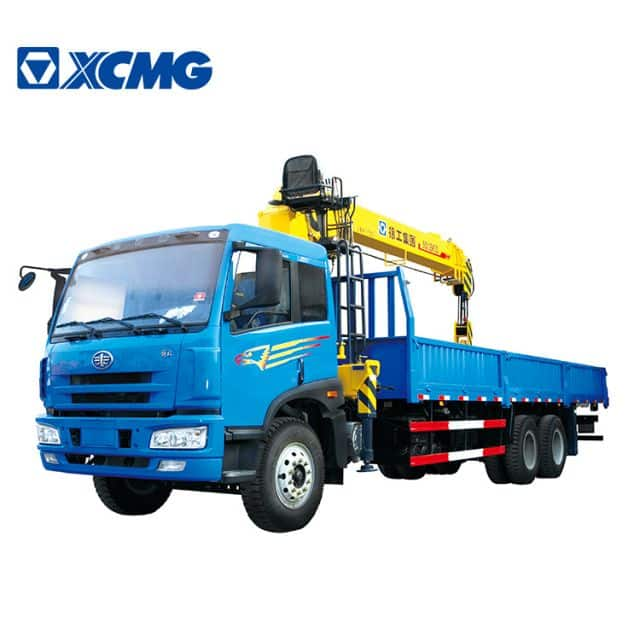 XCMG Factory 10 Ton Small Cargo Truck SQ10SK3Q  with Crane for Sale