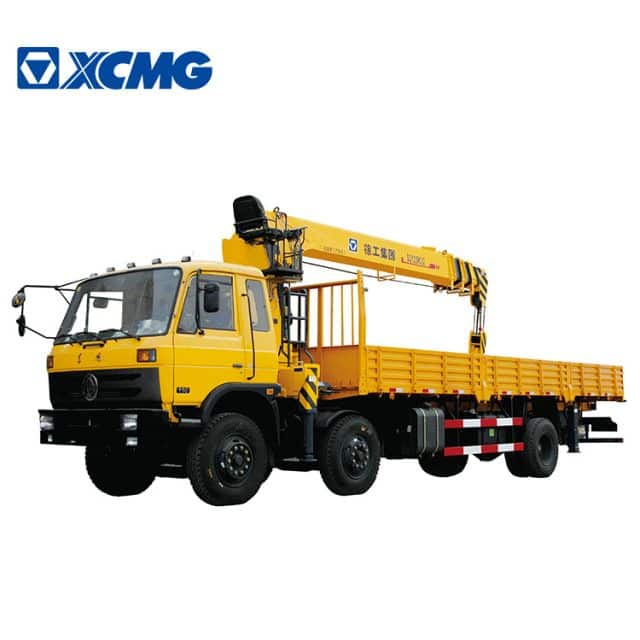XCMG Official 11 Ton Pickup Cargo Truck SQ12SK3Q with Crane for Sale