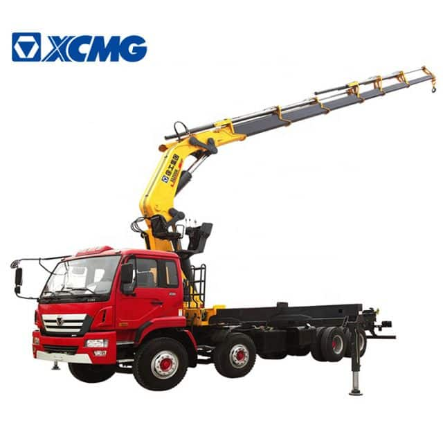 XCMG Official 16 Ton New Hydraulic Knuckle Boom Truck Crane Trailer Crane SQ16ZK4Q Price