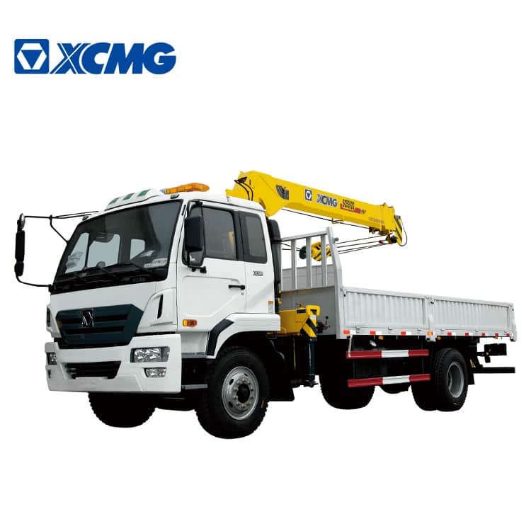 XCMG Official 5 Ton Trailer Crane Chinese Production SQ5SK3Q Trailer Mounted Crane For Sale