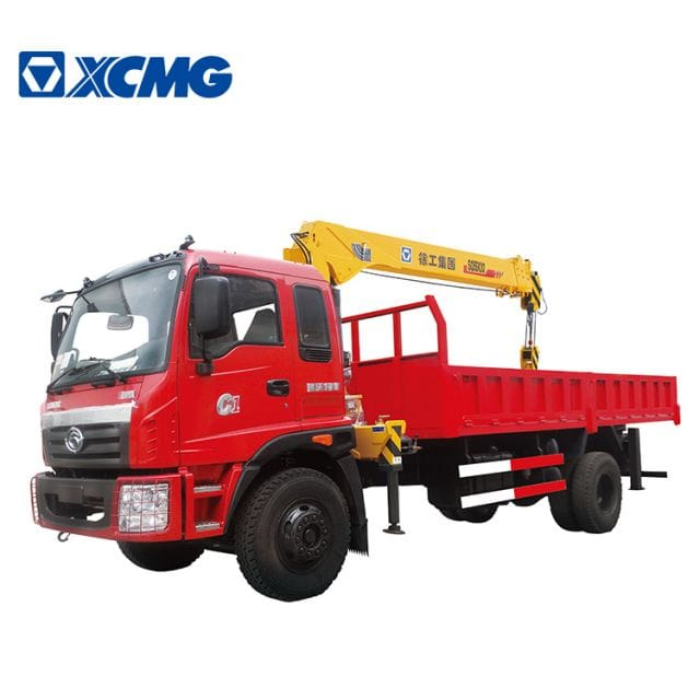 XCMG Official 5 Tonne Truck Mounted SQ5SK3Q with Hydraulic Arm Crane