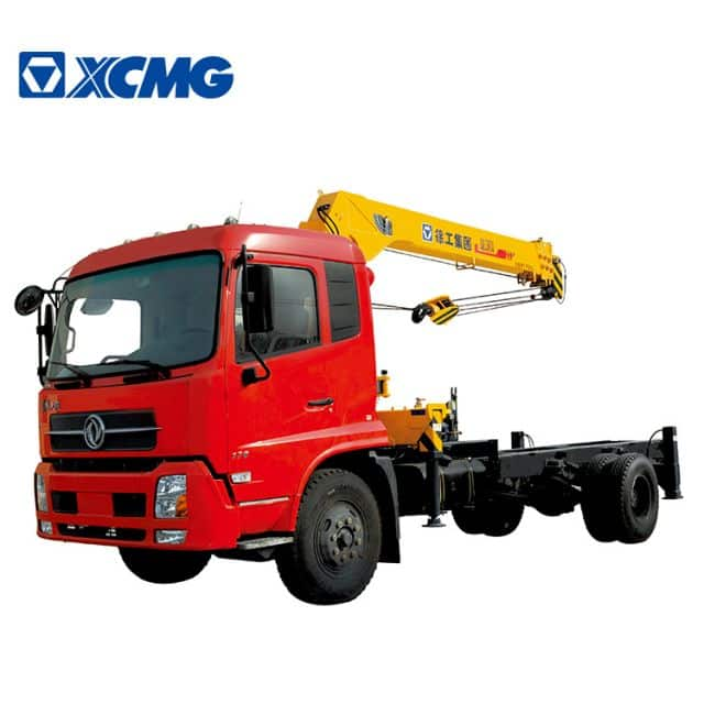XCMG Official Truck Mounted Crane 6 Ton Q6.3SK3Q Crane Truck Mounted For Sale