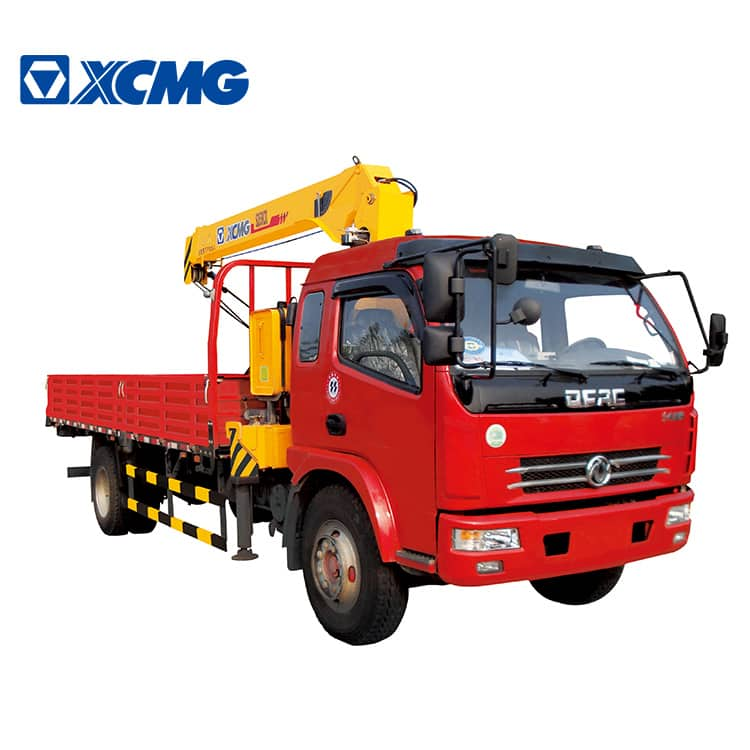 XCMG Official New SQ8SK3Q 8ton Crane Telescoping Boom truck Mounted Crane for Sale
