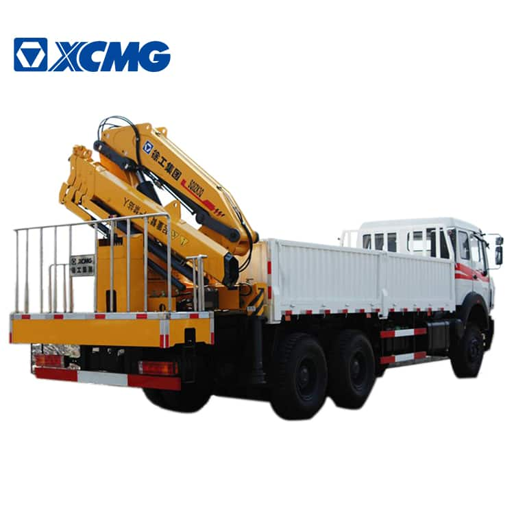 XCMG Official 8 ton Heavy Duty Crane SQ8ZK3Q Folding Arms Truck Crane For Sale