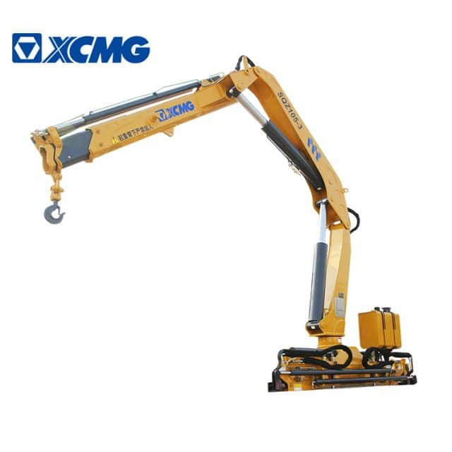 XCMG Official 5 Ton New Pickup Crane Knuckle Boom Crane SQZ105-3 for Sale