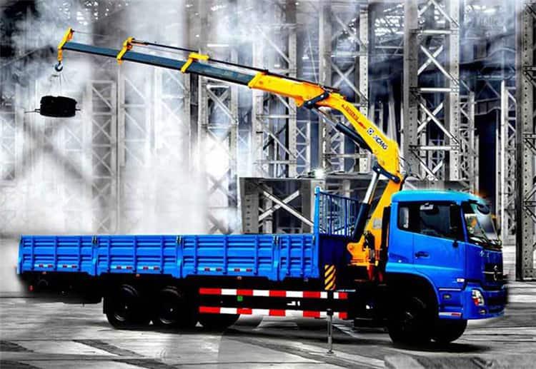 XCMG SQ12ZK3Q 12 ton lorry boom crane for sale singapore