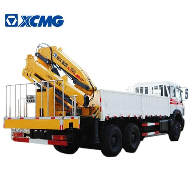 XCMG Official 8 Ton New Articulated Telescopic Boom Mobile Knuckle Cranes SQ8ZK3Q Price