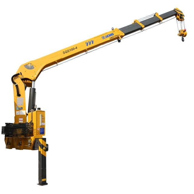 XCMG Official SQS100-4 Truck-mounted Crane for sale