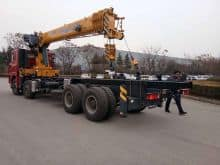 XCMG Factory SQS500-5 20 Ton Tractor Mounted Log Crane with Trailer