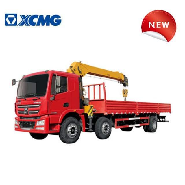 XCMG 20 ton truck with crane SQS500B China telescopic boom lorry crane