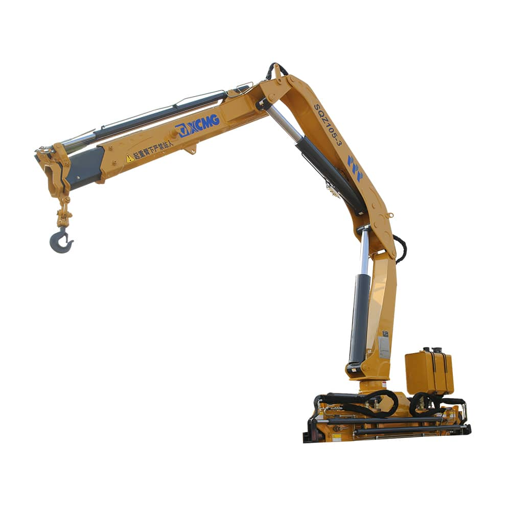 XCMG Official  SQZ105-3 Truck-mounted Crane for sale